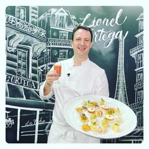 Chef francês Lionel Ortega ensina a fazer Petiscos Gourmet