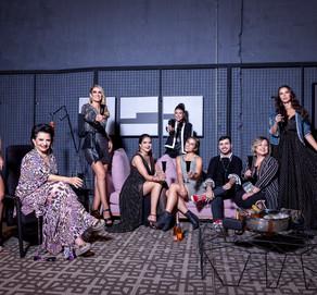 """Os embaixadores da Sparkling Wine Fair em um editorial de moda exclusivo """"ESTILOZZO & SWF""""."""