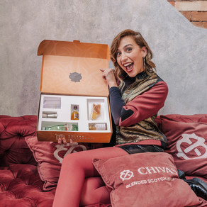 Primeiro delivery de Chivas Regal chega a Brasília e Goiânia