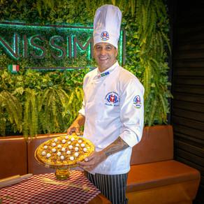 Chef Marcello Lopes abre mais uma casa com sua assinatura, o Italianíssimo