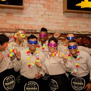Mandaka promove bailinho de carnaval para crianças