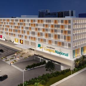 Conjunto Nacional revitaliza fachada e inaugura novo espaço ao ar livre