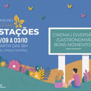 Primeiro Festival Estações Terraço Shopping: cinema, diversão, gastronomia e bons momentos