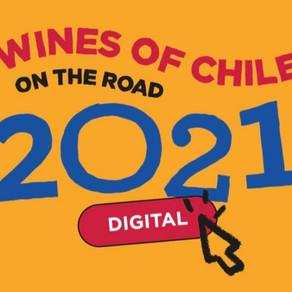PREPARE AS SUAS TAÇAS PARA O WINES OF CHILE ON THE ROAD DIGITAL 2021