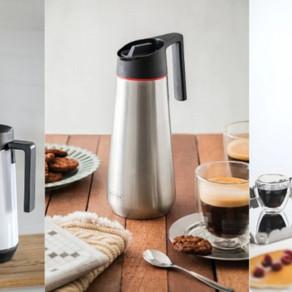 Linha Exata oferece design e conforto para degustar bebidas quentes ou geladas