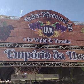 I Feira da Uva e do Vinho de Brasília é realizada com sucesso