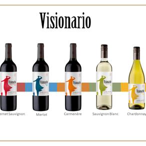 Viña Morandé lança linha Visionário, vinhos exclusivos para o varejo