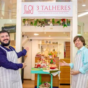 3 Talheres - Gastronomia na Capital abre loja no shopping Liberty Mall