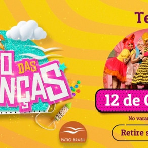 Pátio terá evento especial no 12 de outubro