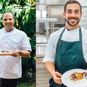 Aroma recebe chef cearense Diego Freire, do Mayú, para a criação de menu inédito a quatro mãos
