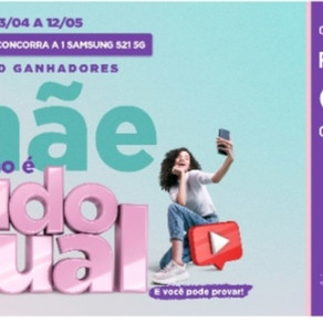 Pátio Brasil faz Concurso Cultural para o Dia das Mães