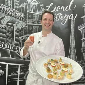 Curso Petiscos Gourmet pelo chef francês Lionel Ortega