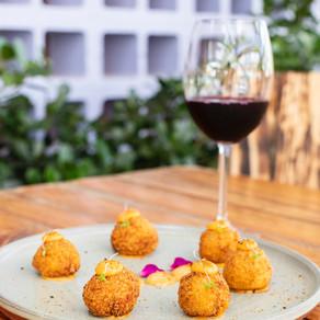Novidades gastronômicas no menu do Wine Garden