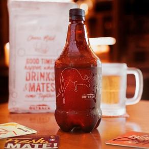 Outback presenteia clientes no delivery com 1 litro de Chopp Brahma ou de Iced Tea