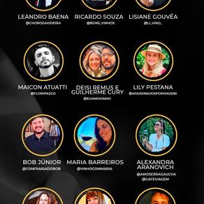 DIA DO VINHO BRASILEIRO 2021 12 influencers numa live cheia de sentidos e histórias