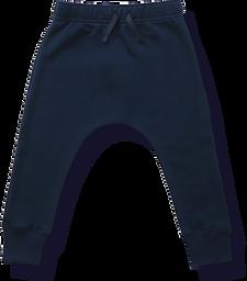 Terry Fleece Sweatpants - Navy2.png