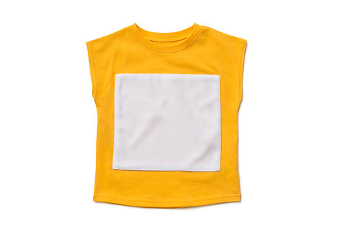 Sleeveless Top - Yellow