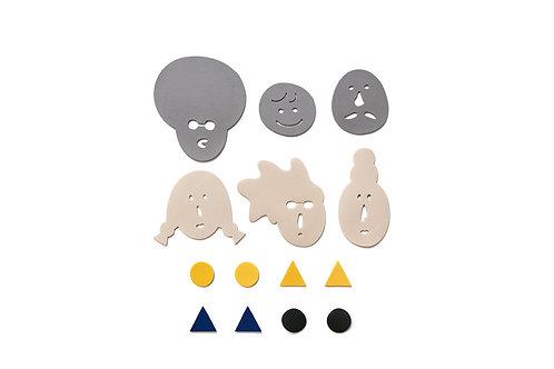 Faces Puzzle Set