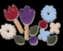 OKIDZO FLOWER PUZZLE SET