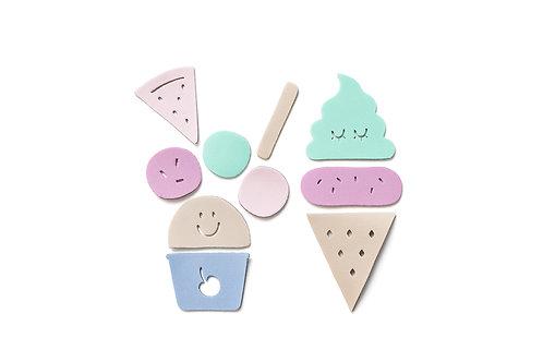 Ice Cream Puzzle Set
