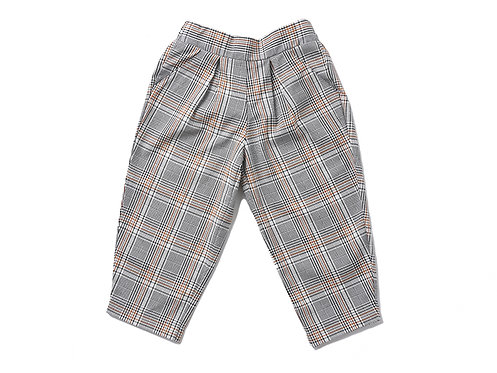 Plaid Trouser - Brown