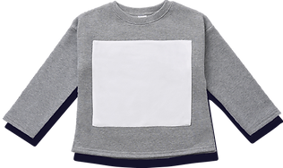 Long Sleeve Terry Fleece Top - 8x9_ Squ