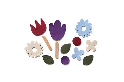 Flower Puzzle Set