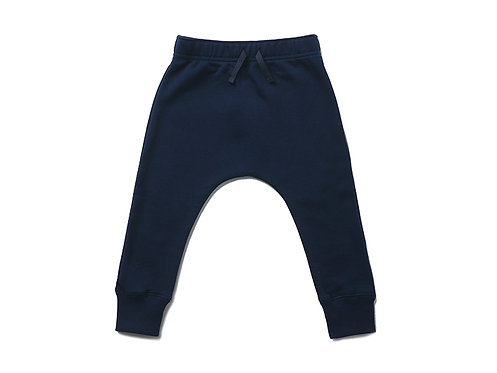 Fleece Jogger - Navy