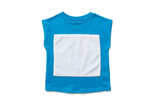 Sleeveless Top - Blue