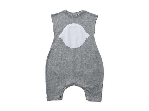 Sleeveless Playsuit - Grey