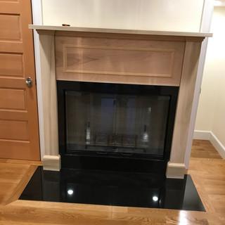 Fireplace in Hallway