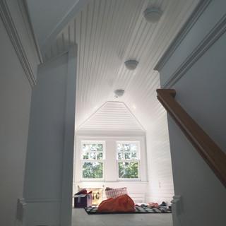 Wood ceiling and interior trim