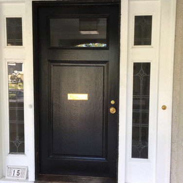Exterior Door in Wellesley