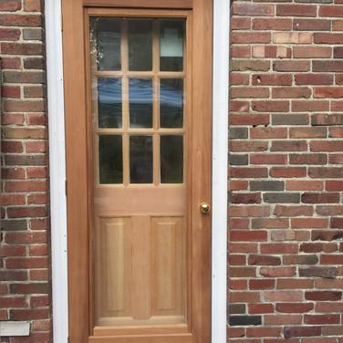 Installation of new doors in Belmont