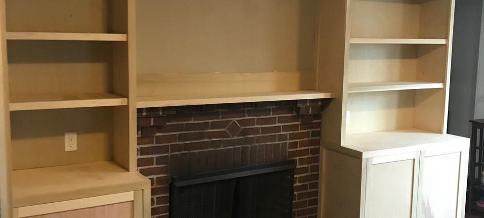 Living room cabinets in Arlington