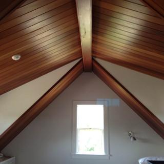Mahogany ceiling