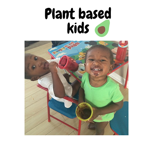 Plant based kids ebook
