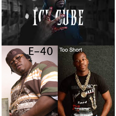 Too Short, E-40 and Ice Cube Grouping Together