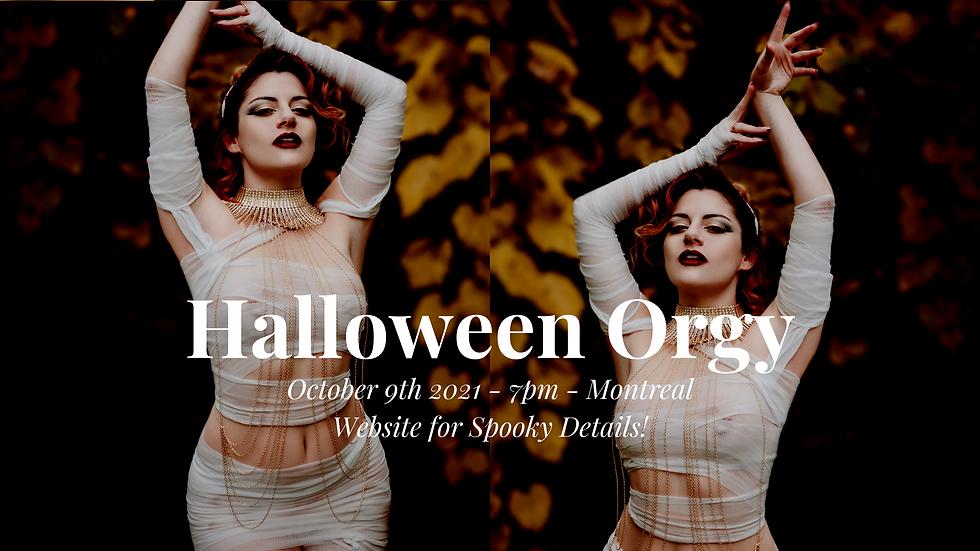 Halloween Orgy