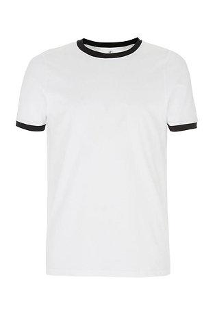 Men's Ringer T-Shirt Navy Trim