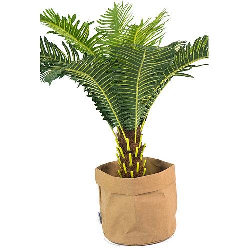Washable Brown Paper Basket - Large
