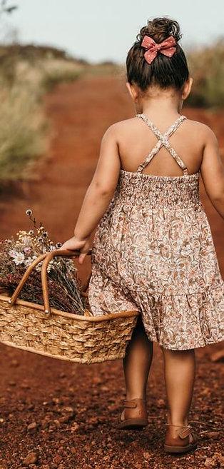 Lulu Dress - Peach