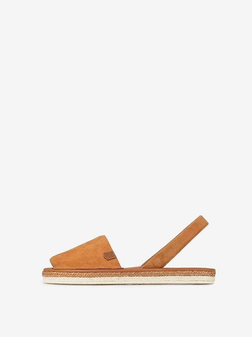 Ladies Sandals - Tan Suede