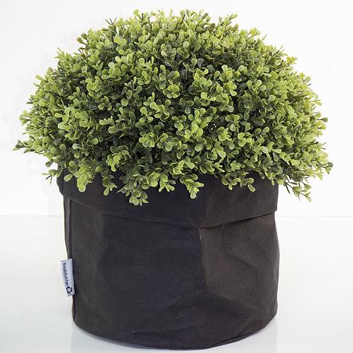 Washable Black Paper Basket - Large