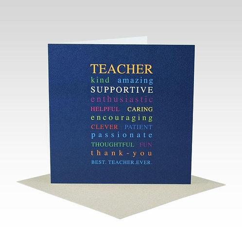 Card - Teacher