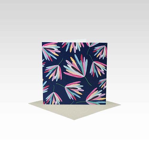 Card - Mini - Protea - any occasion