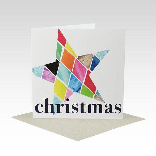 Card - Christmas Star