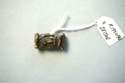 Egyptian amulet with tags