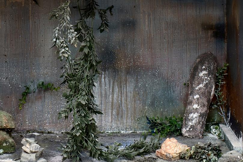 Sarcophagi House Closeup