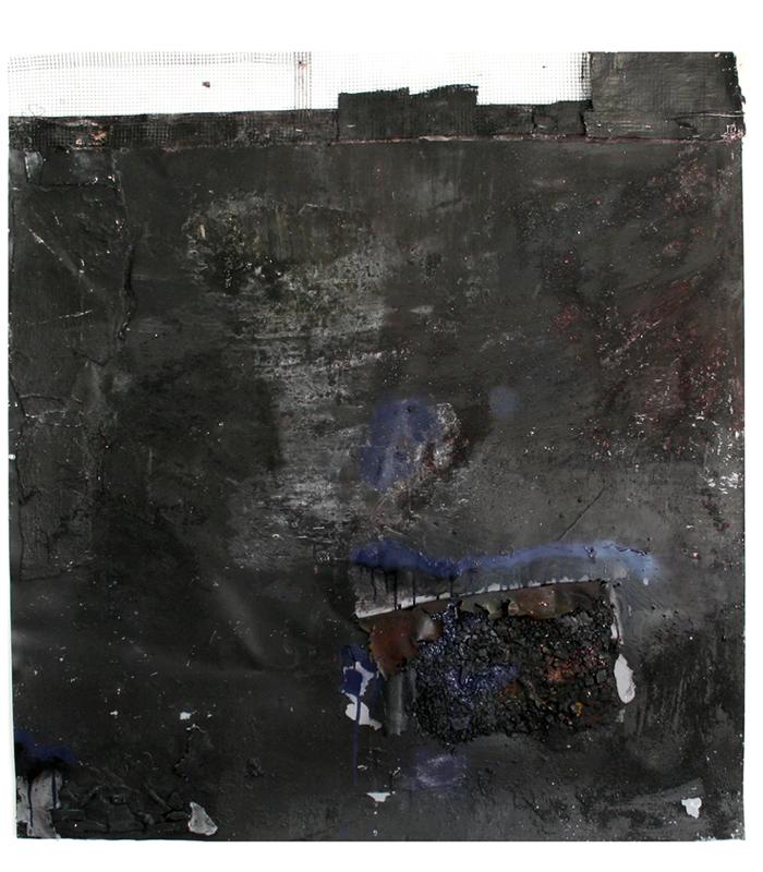Black painting 2012